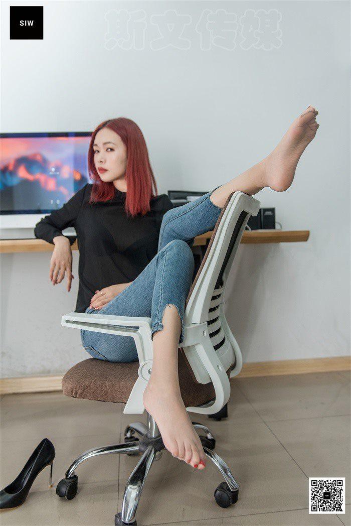 [SIW斯文传媒]VOL.017 办公裤里丝-悦悦[64P/165M]